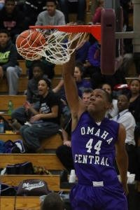 Tre'Shawn Thurman of Omaha Central
